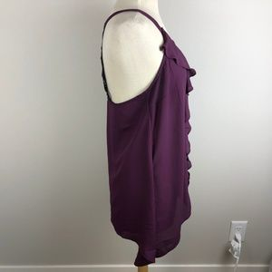 Maurices Tops - Maurices Sleeveless Blouse Size L Purple